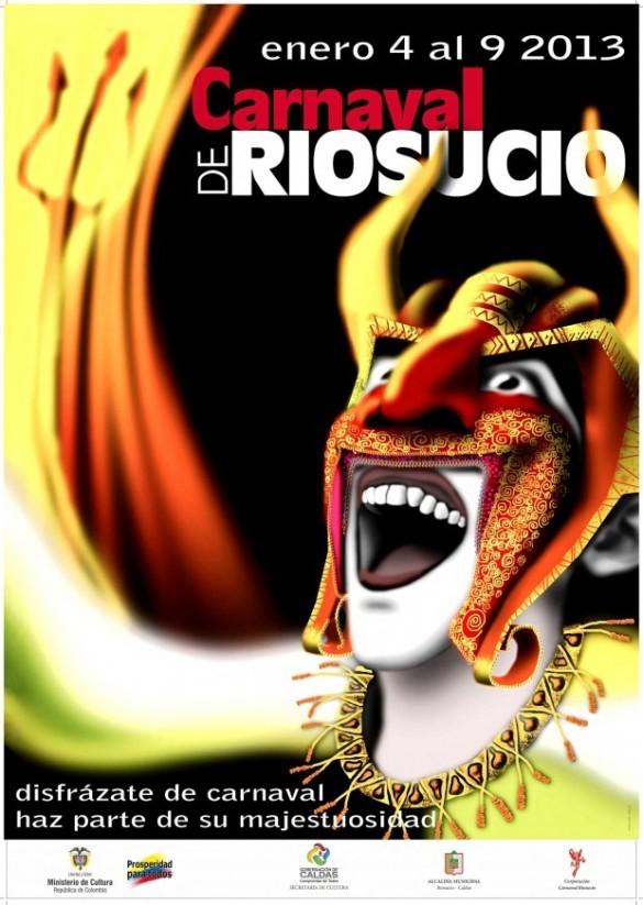 Afiche Carnaval de Riosucio 2013