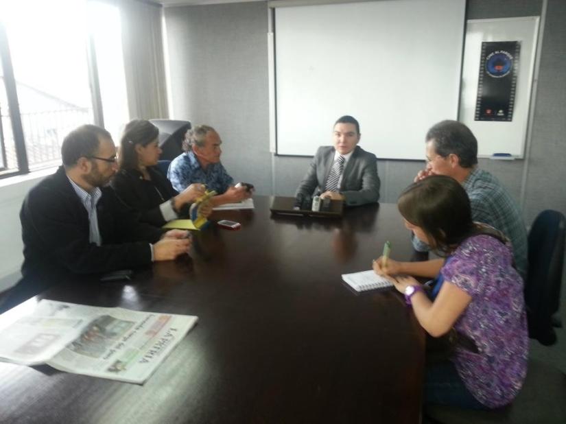 Tertulia con secretario de Desarrollo Económico de Caldas, Miguel Trujillo Londoño