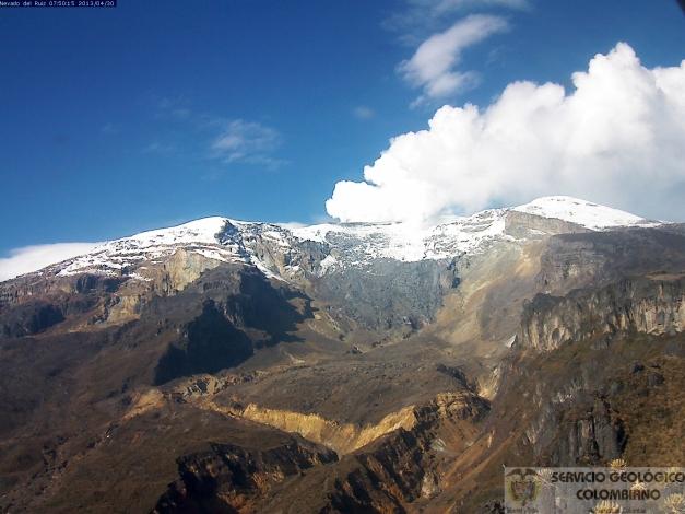 Nevado del Ruiz74